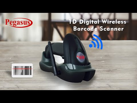 Pegasus PS2230 1D Digital Wireless Barcode Scanner