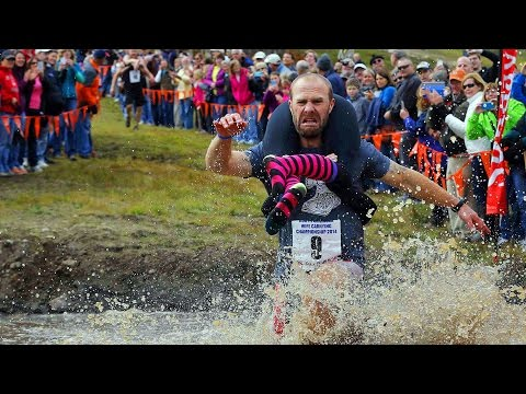 BBC Learning English: Video Words In The News: Wife-carrying Race (15 October 2014)