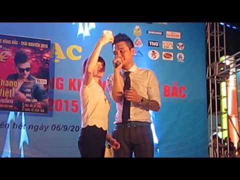 Tội cho cô gái đó - Khắc Việt Live tại hội chợ Thái Nguyên 9/2015