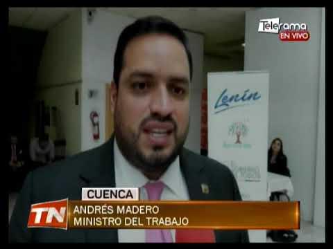 Ministro del trabajo socializa proyectos