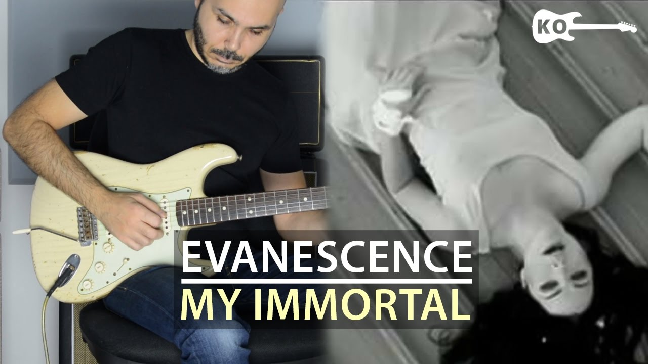 Evanescence – My Immortal – Electric Guitar Cover by Kfir Ochaion
