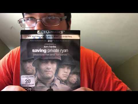 Saving Private Ryan 4K Ultra HD Blu-Ray Unboxing