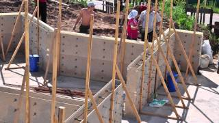 Несъемная опалубка для монолитного малоэтажного строительства