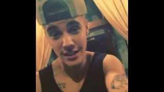 Justin Bieber SINGING His LATEST Announcement!! - Justin Bieber's Instagram Video (28/10/2013)