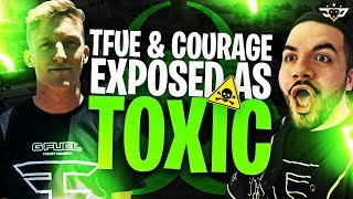 TFUE AND COURAGE EXPOSED AS TOXIC?! (Fortnite: Battle Royale)