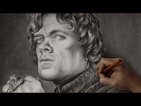 Tyrion Lannister Time Lapse Drawing