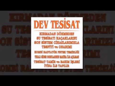 Eskişehir Dev Tesisat | Eskişehir Su Kaçak Tespiti - Eskişehir Sıhhi Tesisat