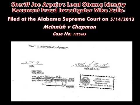 Fraud - LINK / FULL AFFIDAVIT: Glenn Beck Slams Sheriff Joe Arpaio Obama Identity Document Fraud Investigation - 5/16/2013 - http://www.BirtherReport.com - http://ww...