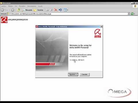 Video 1 de Avira Antivirus: Descargar Avira del sitio oficial e instalar
