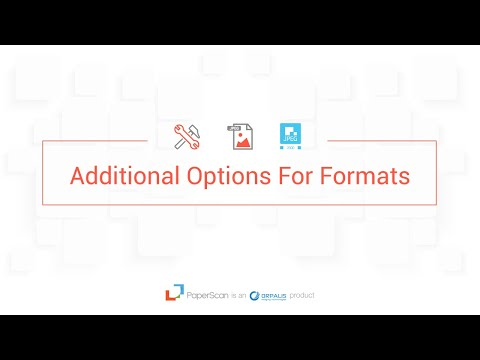 Paperscan Video Guide Episode 7 Format & Document Compression options