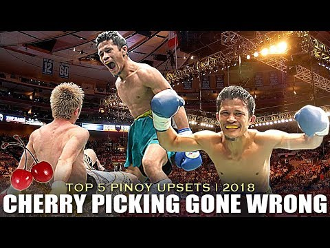 TOP 5 FILIPINO UPSET WINS OF 2018 | CHERRY PICKING GONE WRONG