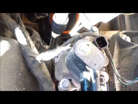 DIY How to replace install thermostat housing 2005 Chrysler Sebring