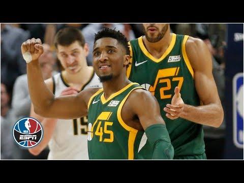Video: Donovan Mitchell outduels Nikola Jokic in Jazz vs. Nuggets   NBA Highlights
