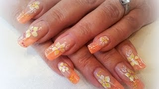How to- acrylic nails-step by step- summertime