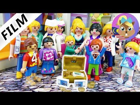 Filem Playmobil - SOMBONG BELI SHOPPING-CENTER! MALL MILIK BUDAK - Keluarga Vogel