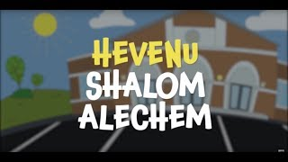 Hevenu Shalom Aleichem lyrics video