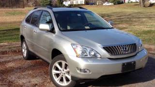 2008 Lexus RX350 Review, Walk Around, Start Up&Rev, Test Drive