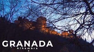 Крепость Альгамбра в Испании, Гранада