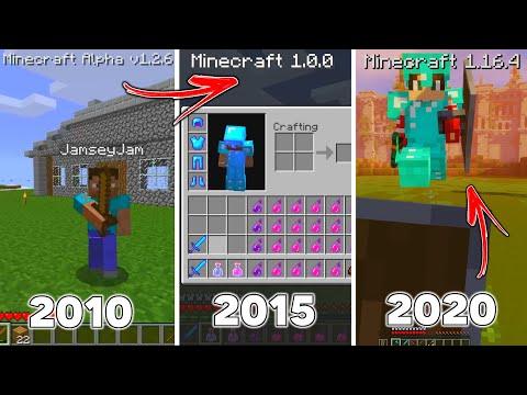 The Evolution of Minecraft COMBAT (Alpha PvP - 1.16 PvP)