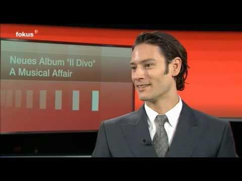 Il Divo - Urs Bühler Interview Tele1 2013.12.9