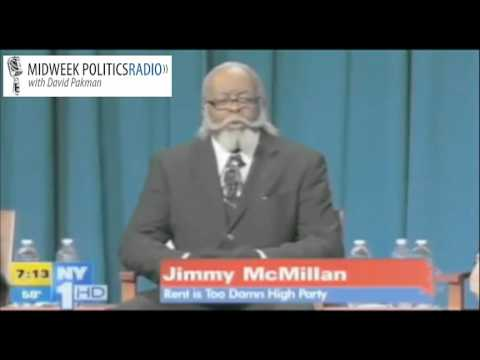The Rent is Too Damn High Party Jimmy McMillan Debates for NY Gov Video