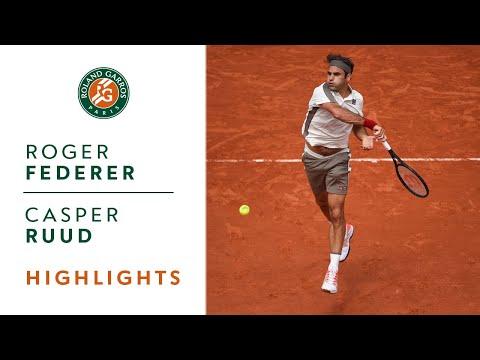 Roger Federer vs Casper Ruud - Round 3 Highlights | Roland-Garros 2019 - Thời lượng: 3:17.