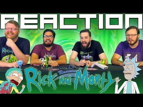 Rick and Morty Season 4 Trailer REACTION!!