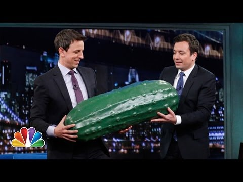 Seth Meyers Gets the Late Night Pickle