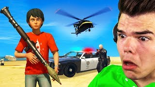 Playing As A CHILD In GTA 5! (GTA 5 Mods)