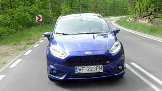 (ENG) 2013 Ford Fiesta ST - Test Drive And Review
