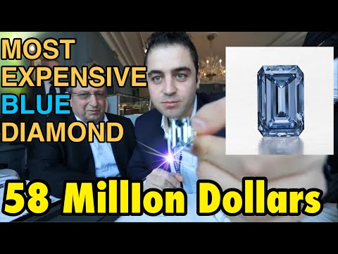 45 million Dollars Diamond in My Hand! Geneva, Switzerland