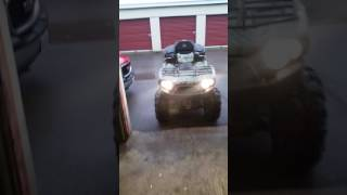 8. 06 kawasaki brute force 700 walk around after tune up