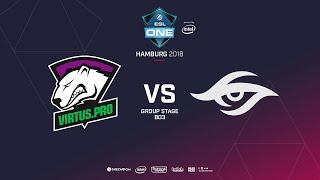 Virtus.pro  vs Team Secret, ESL  One Hamburg, bo3, game 1 [Maelstorm & Jam]