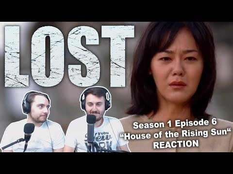 "LOST Season 1 Episode 6 ""House of the Rising Sun"" REACTION"