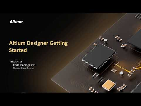 1. How to Start a Project in Altium Designer