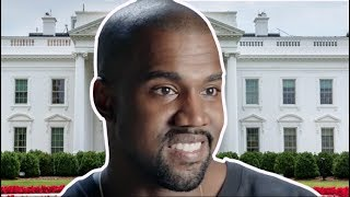 Kanye West Joins Trump Train