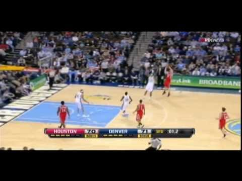Chase Budinger hits three at the buzzer
