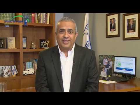 יואב שמחי, יושב ראש ההסתדרות הלאומית, בברכת חג פסח שמח