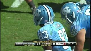 Dwight Jones vs Georgia Tech