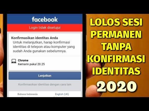 Terbaru Lolos Sesi Permanen FB Tanpa Konfirmasi Identitas | Fb Terkunci 2020