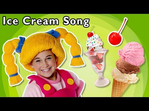 Ice Cream Song Mother Goose Club Nursery Rhymes