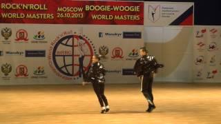 Erste Runde Fußtechnik Teil 2  - World Masters Moskau 2013