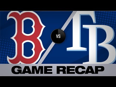 Video: Adames' walk-off lifts Rays in 11 frames | Red Sox-Rays Game Highlights 9/20/19