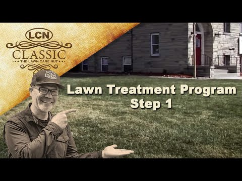 LawnCareMidwest - This year I'm taking you through a lawn treatment program that I developed. This is step #1 and should be applied in early spring, right after the ground beg...