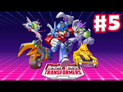 birds - Angry Birds Transformers Gameplay Walkthrough Part 5! Thanks for every Like and Favorite on Angry Birds Transformers! Part 5 features gameplay of characters such as Optimus Prime, Bumblebee,...