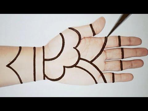 Awesome Mehndi Design Trick  - New Stylish Full Hand Mehendi - 2020 Latest Henna Design