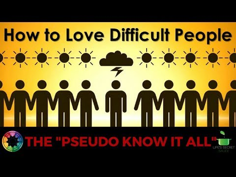 """Dealing With Difficult People 