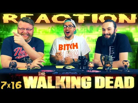 """The Walking Dead 7x16 FINALE REACTION!! """"The First Day of the Rest of Your Life"""""""