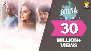 Nonton Bolna Lyric Video   Kapoor   Sons   Sidharth   Alia   Fawad   Arijit   Asees   Tanishk Film Subtitle Indonesia Streaming Movie Download