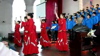 Mudanjiang China  city images : Coral - Igreja em Mudanjiang - China